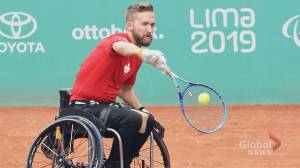 Canadian makes history in wheelchair tennis at Peru's Parapan Am Games