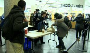 Hundreds of weapons seized at downtown Winnipeg library last year (01:36)