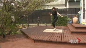 Pandemic perseverance: Calgary dancers earn spots in renowned U.S. training program (01:46)