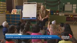 SickKids Hospital suggests reopening schools in September (02:10)