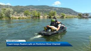 Team keeps floaters safe on Penticton River Channel
