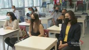 Montreal teacher starts mental health program 'ROAR' to help immigrants (02:34)
