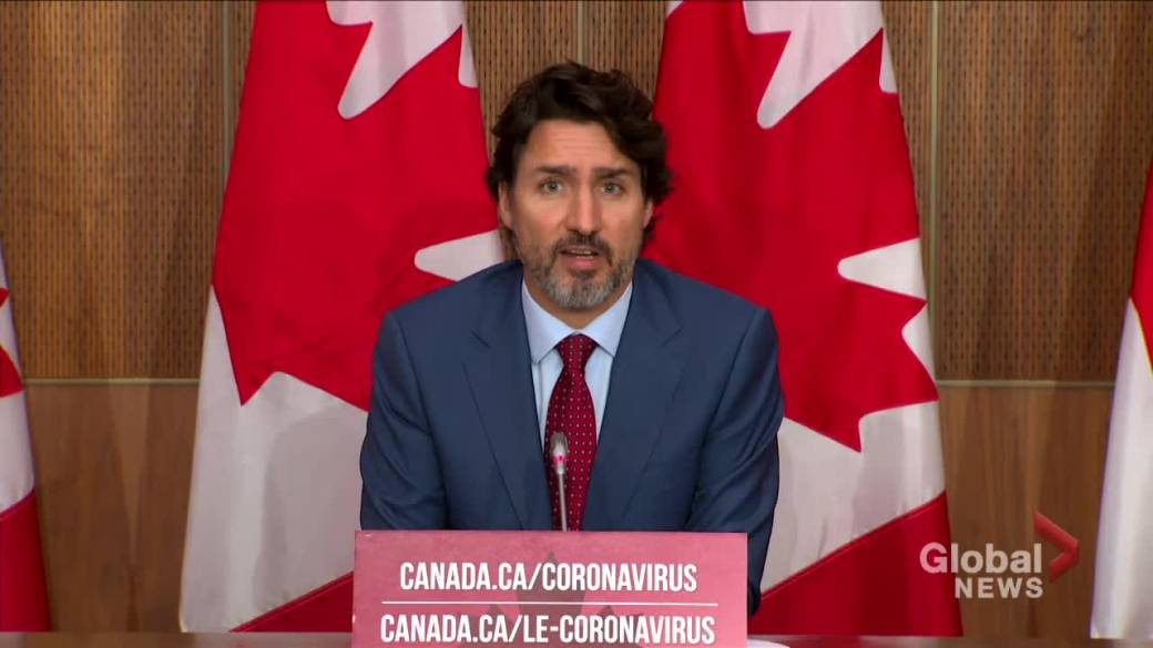 Click to play video 'Trudeau says Canada will not stop calling out China's approach to 'coercive diplomacy''