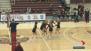 MacEwan Griffins women's volleyball team is soaring