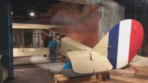 Calgary aviation museum receives 'early Christmas present' (01:44)