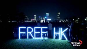 Thousands gather for 'martyr's' vigil in Hong Kong