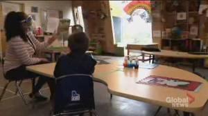 Coronavirus: Child care challenges as lockdown looms (03:04)