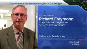 Peterborough 2022 Budget up for Consultation (02:03)