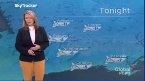 Peterborough Regional Weather Update: January 18, 2021 (01:56)