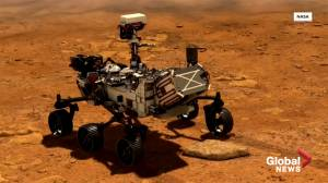 Rover Perseverance set to touch down on Mars Thursday (01:48)