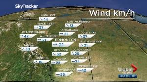 Edmonton weather forecast: Friday, April 30, 2021 (04:25)
