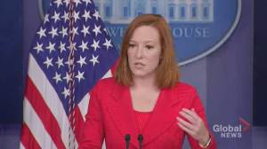 White House 'concerned' about increasing Russian aggression against Ukraine (00:43)