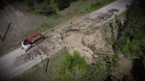Highway 33 closed for repairs