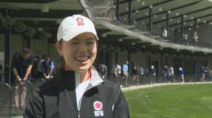 SFU golfer Estee Leung is the perfect student athlete (02:22)