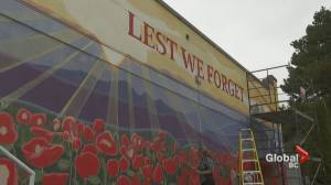Remembrance Day mural project underway