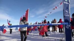 Canadian senior becomes eldest person to run marathon in Antarctica