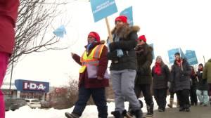 DCDSB teachers hit picket line for one-day strike