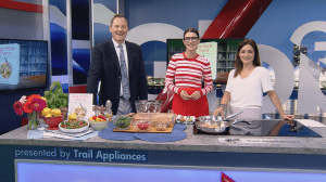 Saturday chef: Spiced chickpea salad