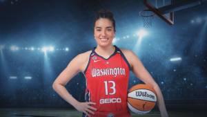 Aislinn Konig finally gets WNBA shot (02:04)