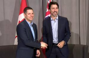 Winnipeg mayor Brian Bowman talks crime, meth with Justin Trudeau