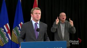 Alberta health minister says 'AHS is ready' for increased COVID-19 cases (00:48)