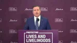 'The virus is winning': Kenney says short supply of COVID-19 vaccine fueling spike in cases (01:31)