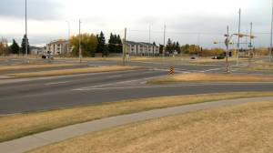 Calgary police investigating after man found dead in southeast intersection