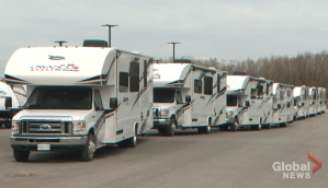 Clarington company offers up RVs to help frontline workers