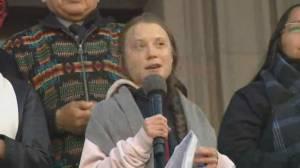 Activist Greta Thunberg participates in Vancouver climate strike