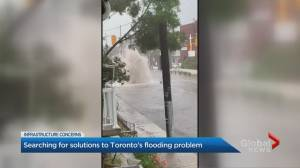 Toronto residents look for flood relief after damaging downpour
