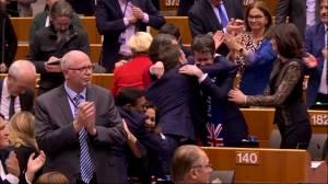 European Parliament passes Brexit withdrawal deal