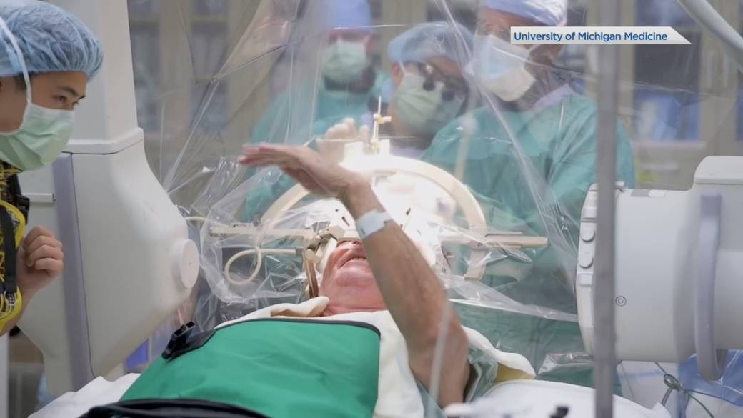 Click to play video 'More Parkinson's surgeries available, but still not enough'