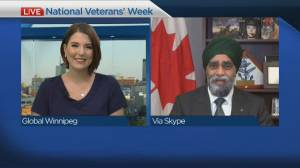 National Veterans' Week runs from November 5 to 11 (04:38)