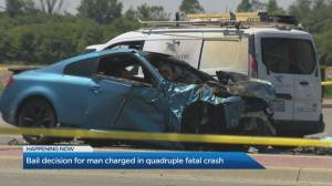Bail hearing in Brampton for man accused in crash that killed 4