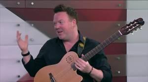 Musical guest Jeff Gunn joins Global News Morning Peterborough