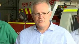 Australia PM praises 'extraordinary' work of firefighters battling wildfires