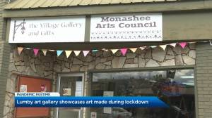 Lumby art gallery showcases pieces made during lockdown