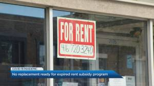 Canada's emergency commercial rent assistance program comes to an end as small business owners struggle (02:35)
