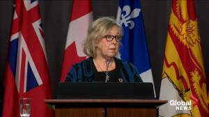 'I hope not': Elizabeth May reacts to question that federal Liberals are daring opposition to call an election