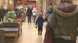 Malls busy as Maritimers partake in Christmas Eve shopping