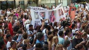 Argentines take to the streets as teen murder shocks nation
