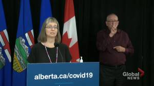 Dr. Hinshaw discusses what comes next as Alberta relaxes COVID-19 health restrictions (02:33)