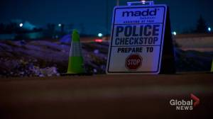 18 vehicles impounded following New Year's Eve sobriety checkpoint (01:53)