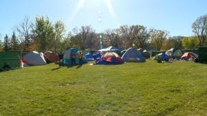 Camp Marjorie organizers want social services to ensure people are not stuck in 'revolving door' of homelessness (02:02)