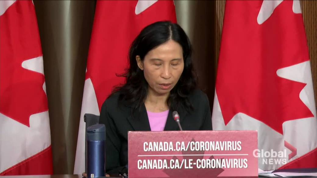 Click to play video 'Coronavirus: Canada's top doctor warns country could reach 10k daily COVID-19 cases by January'