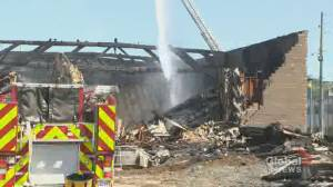 Miramichi fire destroys several buildings, damages others