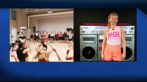 HIGH Fitness holds virtual aerobics class fundraiser (05:31)