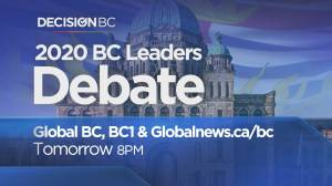 Decision BC: Preview of Tuesday night's election debate (01:31)