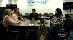 NPower Canada expands in Alberta, offering free tech training for young people (01:58)