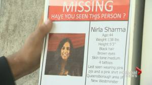 Nirla Sharma disappearance considered 'out of character'